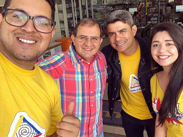 Blitz Cristal no Mercado Itamar em Itaberá