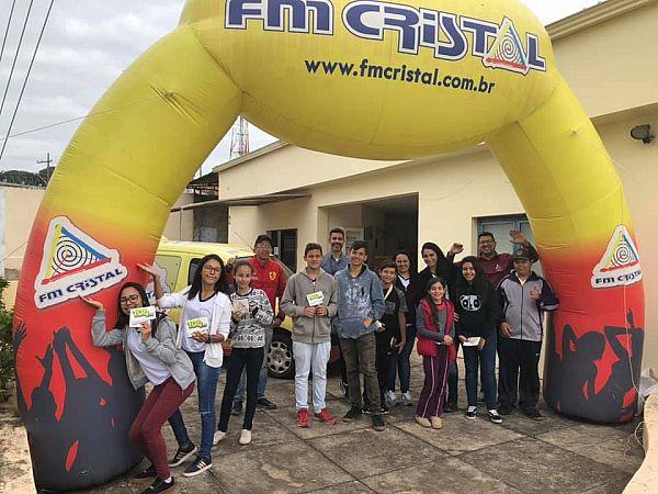 Estação Cristal - E.M. Prof, Thereza Silveira Mello