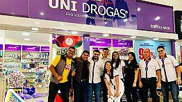 Blitz Cristal na Rede Uni Drogas - 21/09/2019
