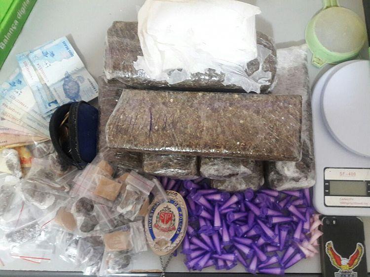 Adolescente é apreendido por tráfico de drogas em Itapeva