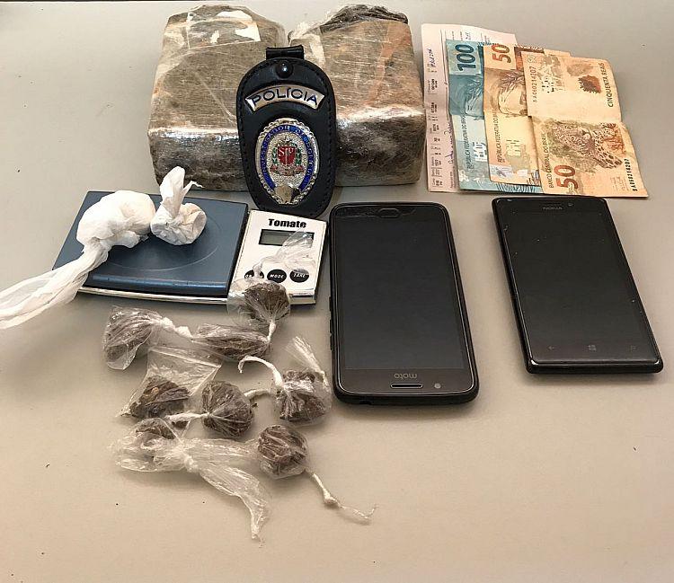 DISE prende casal suspeito de tráfico de drogas em Itapeva