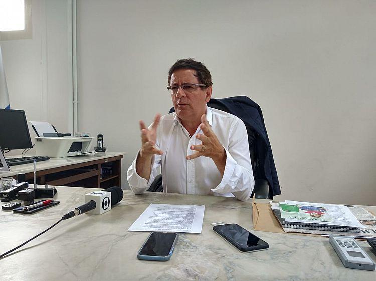 Prefeito Mário Tassinari fala sobre a rescisão de contrato com empresa Jundiá