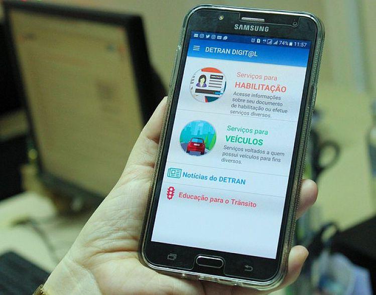 Detran SP disponibiliza novos serviços no site e aplicativo
