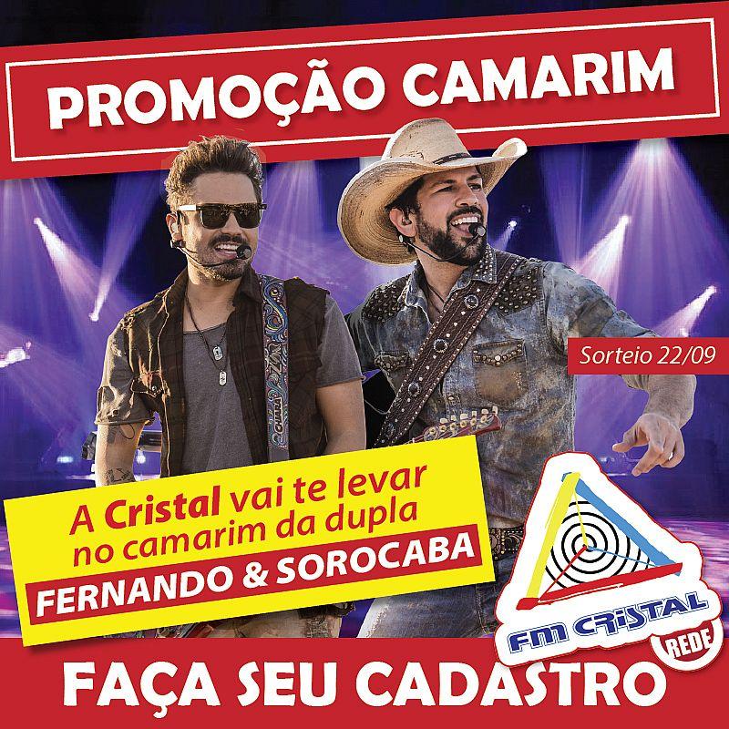 Promoção Camarim Fernando e Sorocaba