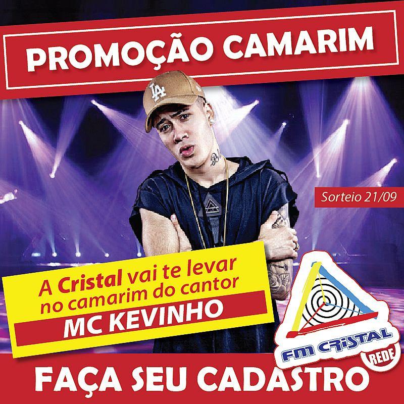 Promoção Camarim MC Kevinho