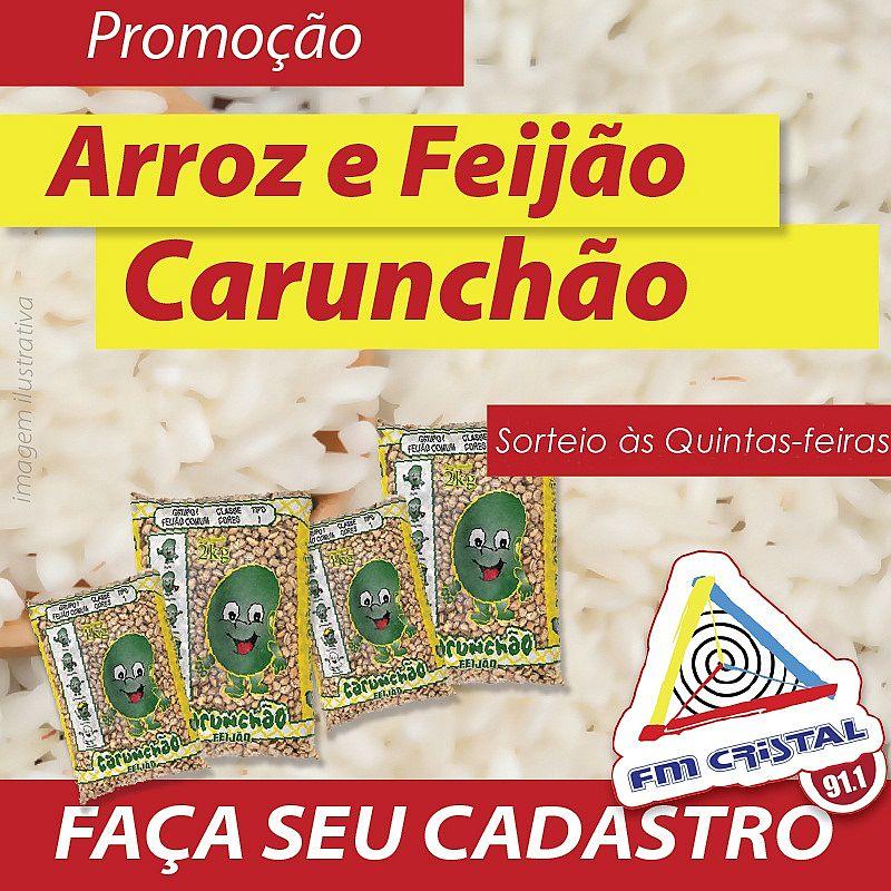 PROMOÇÃO ARROZ E FEIJÃO CARUNCHÃO